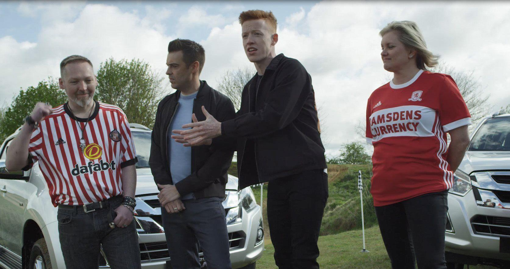 ISUZU SCORES WITH SKY SPORTS AND FOOTBALL DAILY BRAND CAMPAIGN: ISUZU D-MAX DRIVING DERBIES